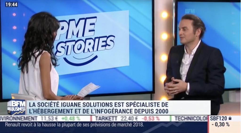 Iguane Solutions sur PME Stories de BFM Business